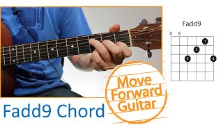 Guitar Chords for Beginners - Fadd9