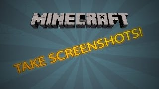 How to Take a Screenshot - Minecraft Xbox 360 Edition