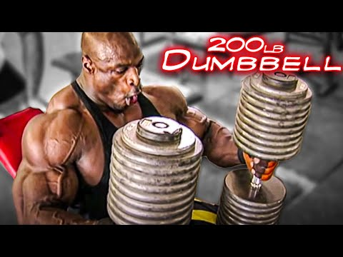 A Day In The Life Of Ronnie Coleman- 200lb...