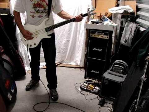 Kramer XKB-20 bass guitar white USA A5791