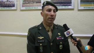 Dia 25 de agosto, dia do Soldado.