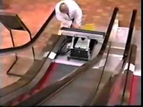 Steambrite Treadmaster Escalator Cleaner Youtube