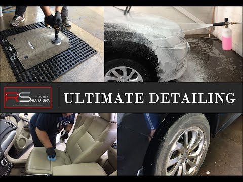 Car Detailing & Auto Cleaning Acura RDX By RS AUTO SPA