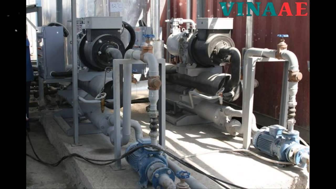 Máy làm lạnh nước – Water chiller – máy làm lạnh công nghiệp .