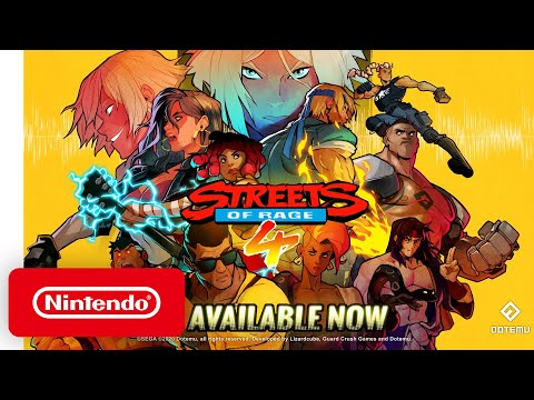 Streets of Rage 4 - Launch Trailer - Nintendo Switch