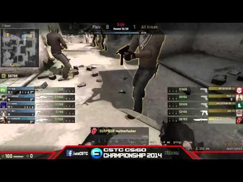 [SHOW MATCH]ALLKREAN Vs Flair Gaming [CSTC CS:GO Championship 2014]