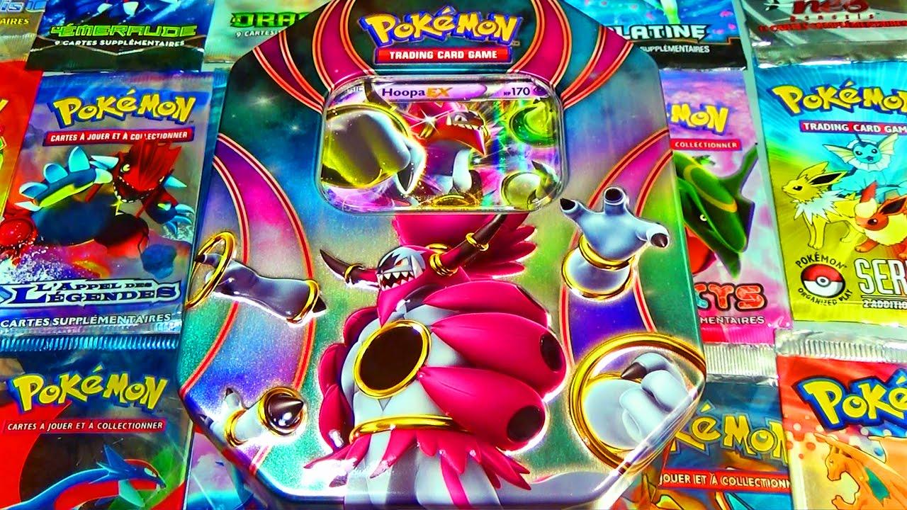 Ouverture de la pok box hoopa ex le pok mon l gendaire - Pokemon legendaire pokemon y ...