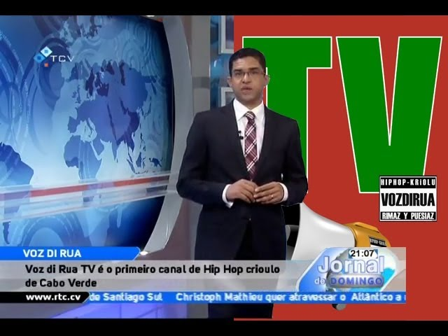Voz Di Rua TV na TV national de Cabo Verde (RTC)