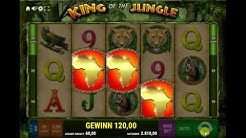 King of the Jungle | Bally Wulff | Online Casino | 60€ Einsatz Freispiele