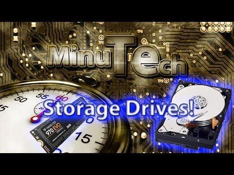Minute Tech: Storage in 60 seconds!