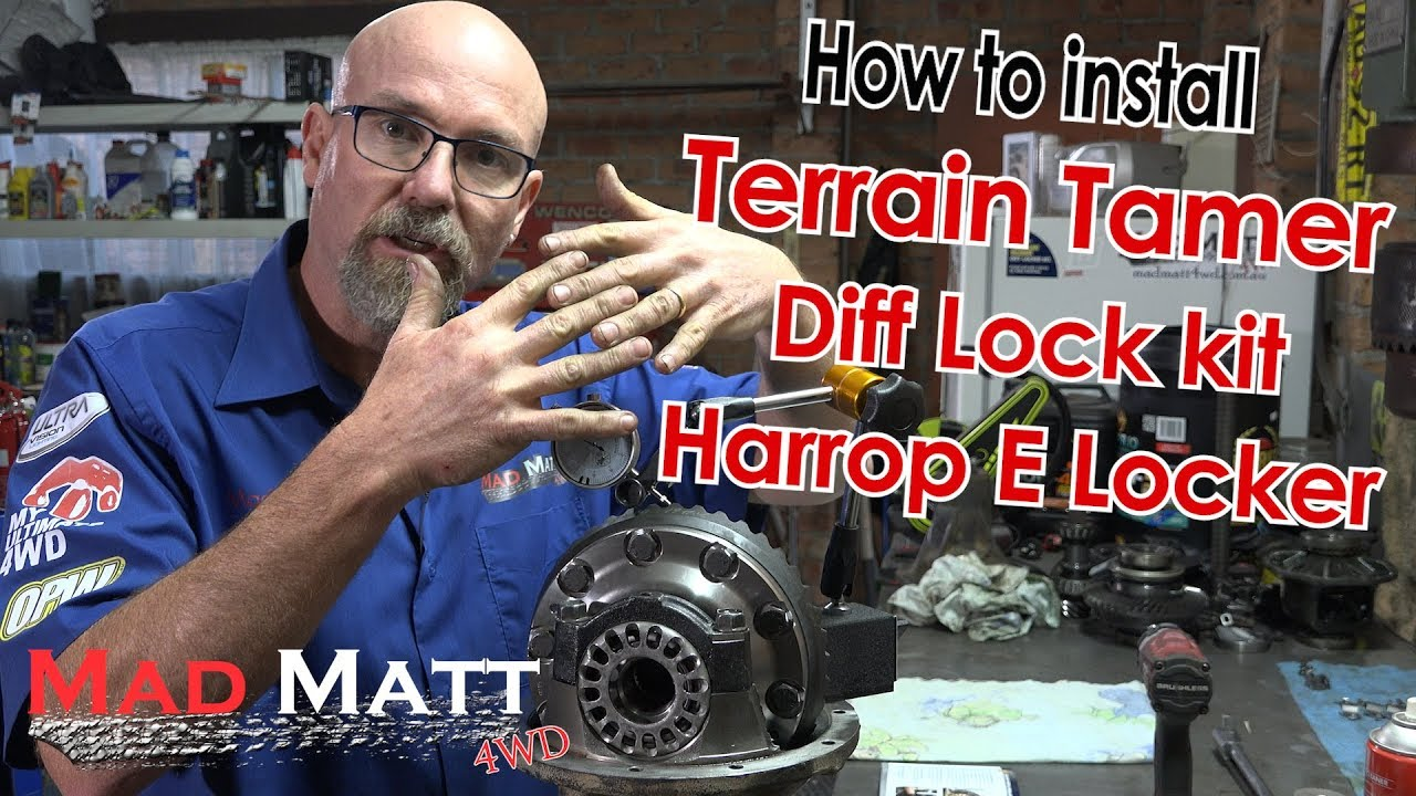 How To Install A Terrain Tamer Diff Locker Kit With Harrop E Tacoma Wiring Harness Madmatt4wd 4x4 Terraintamer