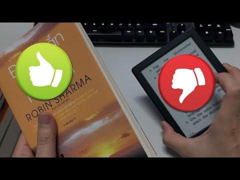 Những lý do KHÔNG NÊN mua máy đọc sách ! Kindle