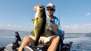 It was almost impossible landing these fish Fellsmere Reservoir bass fishing