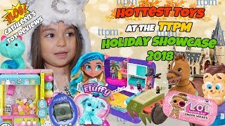 Hottest, Most Wanted Toys Christmas 2018 Vlog | TTPM Toys, Tots, Pets & More Holiday Showcase 2018