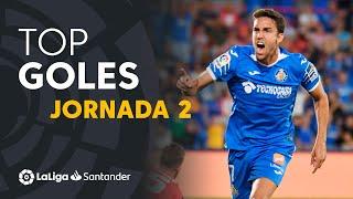 Todos los goles de  la Jornada 2 de LaLiga Santander 2019/2020