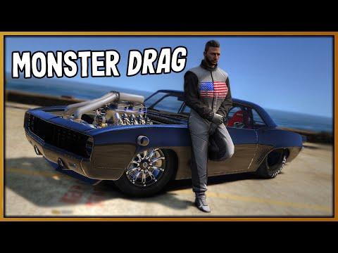 GTA 5 Roleplay - 'MONSTER' Camaro Drag Embarrasses Koenigsegg | RedlineRP #891