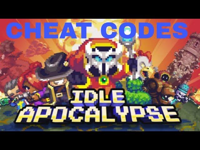 <b>Idle Apocalypse</b> ALL <b>CHEAT CODES</b> OCT 2018