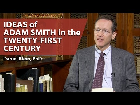 Ideas of Adam Smith in the Twenty-First Century
