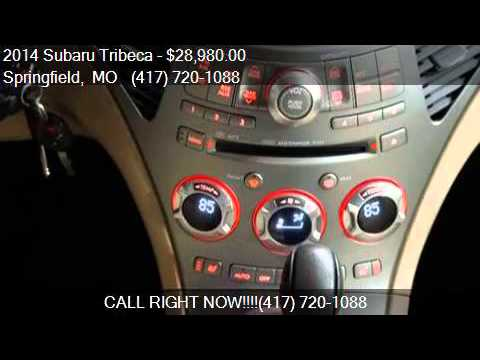 2014 subaru tribeca 3 6r limited for sale in springfield mo youtube. Black Bedroom Furniture Sets. Home Design Ideas