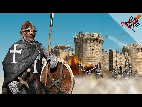 Stronghold Crusader - Mission 4 | County of Tripoli (Crusader States)