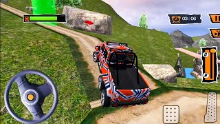 Offroad Truck Simulator | 6x6 Offroad Jeep Drive - Android Gameplay FHD