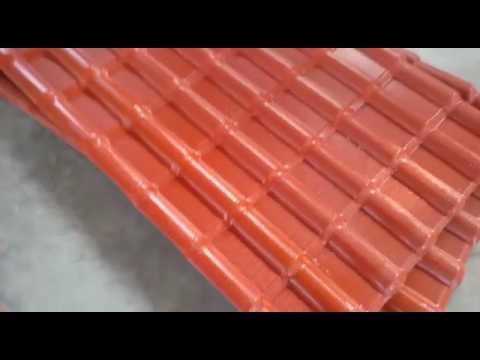 Sri Lanka Customer 4 Layer Asa Pvc Roof Tile Machine Youtube