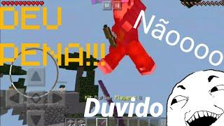 Combei tanto o cara que deu até PENA!!! - Minecraft Skywars