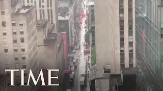 1 Dead After Helicopter Crash-Lands On New York City High-Rise Building | TIME