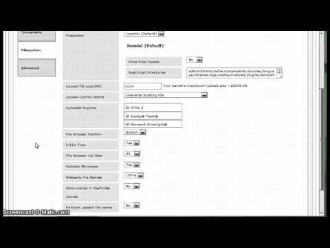 FIX JCE Editor Error 403: Invalid mime type