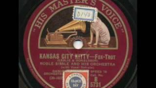 Noble Sissle, Kansas City Kitty. England 1929
