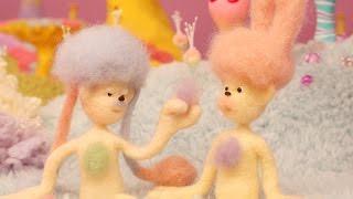 パモンとは、頭の毛を自在に操り、胸毛でコミュニケーションをとる、摩...