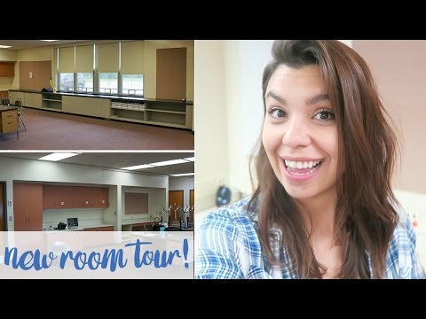 New Classroom Tour! -----AND some exciting news --- ~Vlog