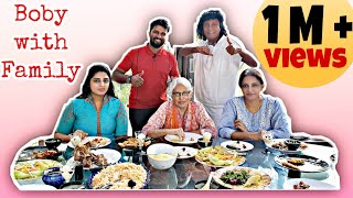 Bobby Chemmannur വീട്ടിൽ ഇങ്ങനെയാ | First time Family in Social media | chef on road | Chef shameem