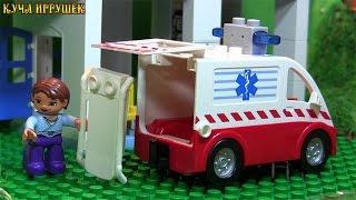 Лего-мультик - Строим госпиталь - Видео для маленьких. Lego-Hospital. Cartoon