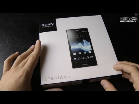 Review: Sony Xperia ion | HighTechX