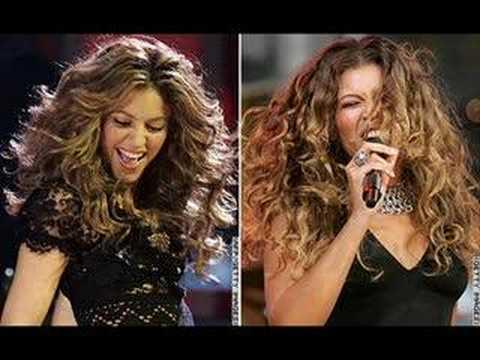 Celebrity Lookalikes Beyonce And Shakira Youtube
