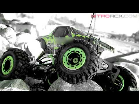 1/8th Scale Exceed RC MaxStone 4WD Rock Crawler