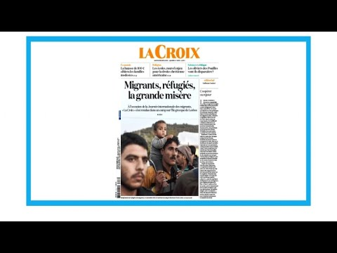 """Migrants, réfugiés, la grande misère"""