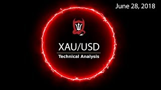 Gold Technical Analysis (XAU/USD) : Gold Finger...  [06/28/2018]