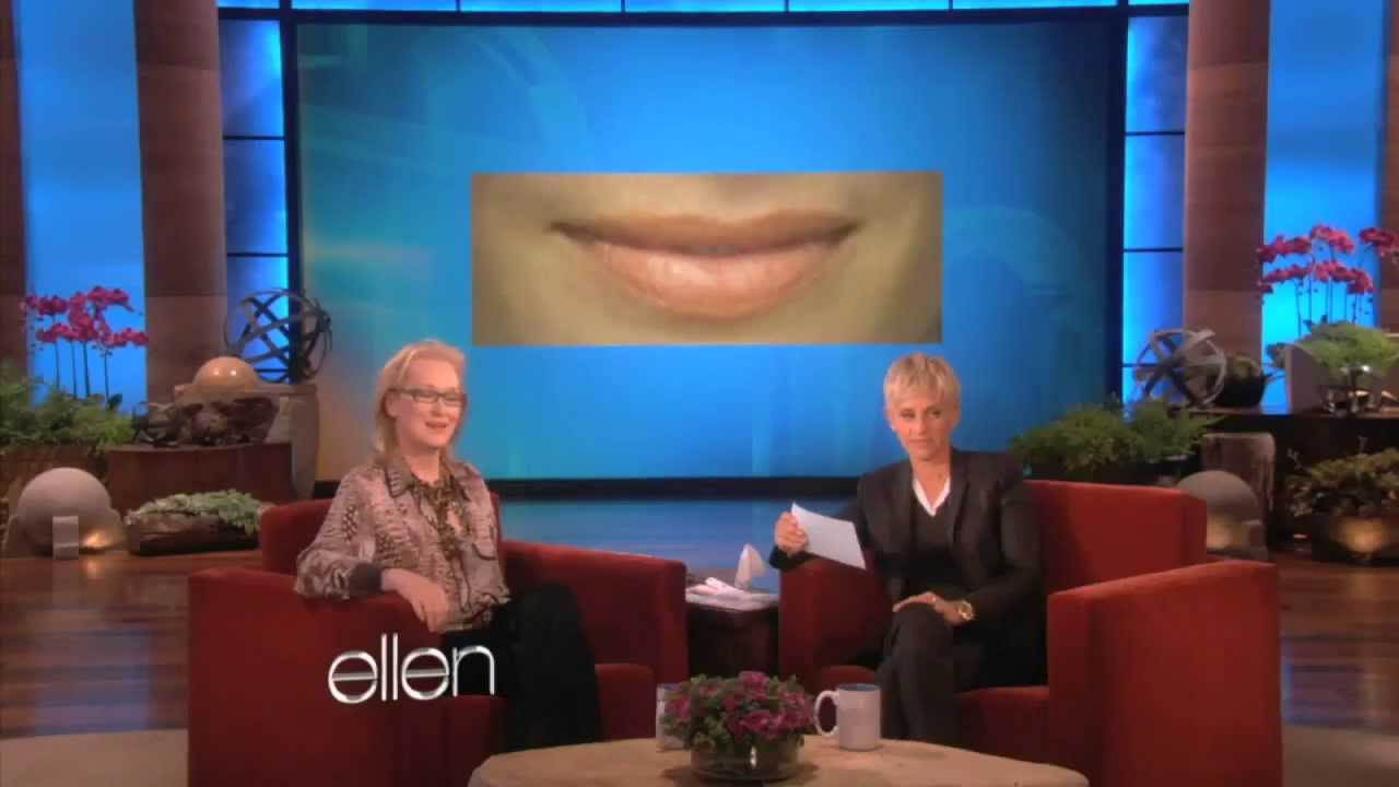 Meryl streep kisses and tells the ellen show youtube - Ellen show live ...