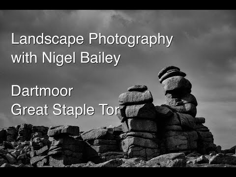 Landscape Photography and Wild Camping Dartmoor Great Staple Tor