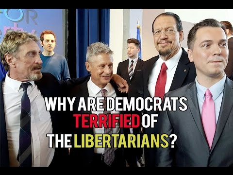 Why are Democrats Terrified of Libertarians?