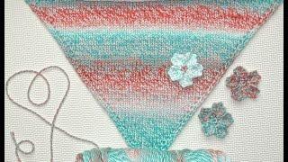 Crochet Cherry Blossom Tutorial | Subtitles