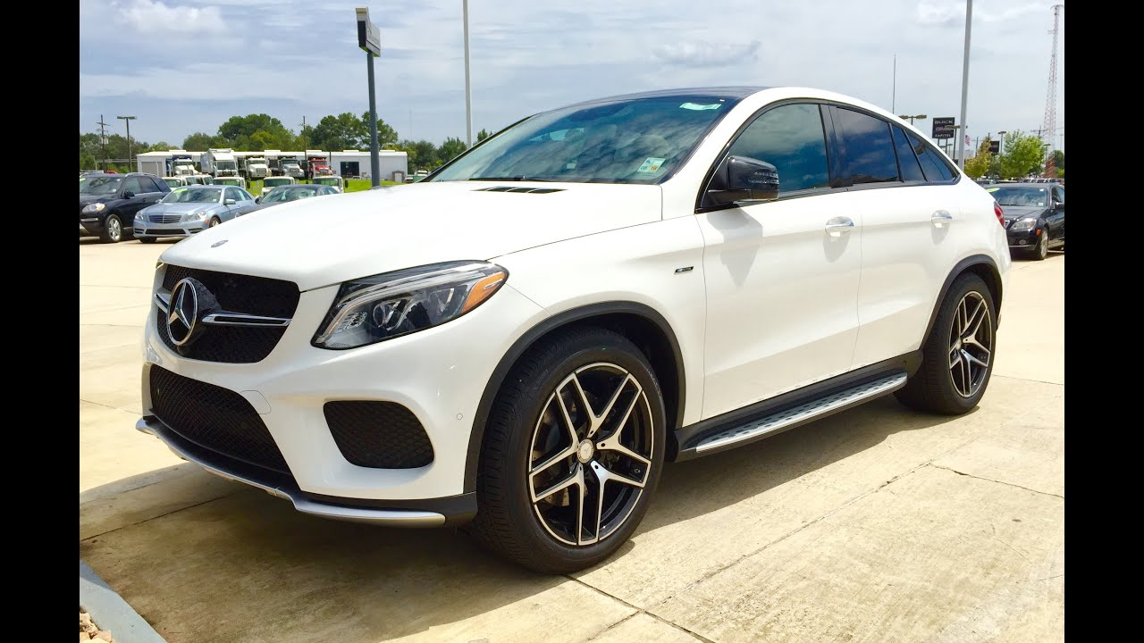 2016 Mercedes Benz Gle Class Gle 450 Amg Coupe Full