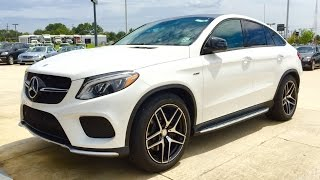 2016 Mercedes Benz GLE Class: GLE 450 AMG Coupe Full Review / Exhaust / Start Up(Facebook Fan Page https://www.facebook.com/Automoho 2016 Mercedes Benz GLE Class: GLE 450 AMG Coupe in Polar White with Ginger Beige and Black ..., 2015-09-16T13:56:15.000Z)