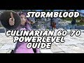 FFXIV Culinarian 60-70 Powerlevel Guide - Leves, Collectables & Resources