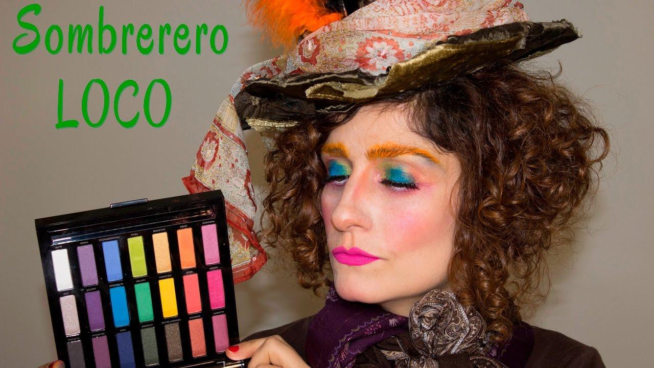 Maquillaje Carnaval con Paleta Full Spectrum  Sombrerero Loco! - YouTube b2c532302a8