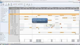 Interactive Visual Production Scheduler for Microsoft Dynamics NAV