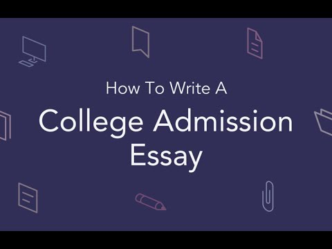 How to Write a College Admission Essay - Tips from UPenn/Stanford/USC Alum