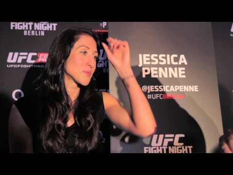 UFC Berlin media scrum || Jessica Penne